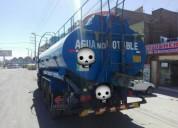 Alquiler de cisterna marca hino 5000 galones