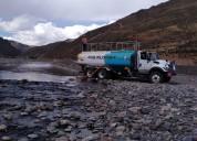 alquiler de camion cisterna ano 2016 en arequipa