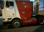 Alquilo tracto camion con carreta en lima