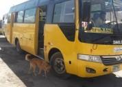 Vendo minibus con linea en canarios en arequipa