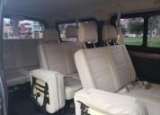 Alquiler minivan 2018 200 soles en lima