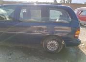 Se remata minivan en huánuco