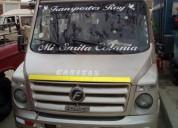 Se vende minibus 100 operativo marca force modelo traveller en tumbes
