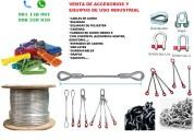 Cables cadenas eslingas estrobos conductores