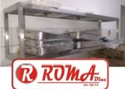 Roma diaz tabola calda en acero inox