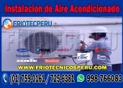 Técnicos de aire acondicionado splip-servicio