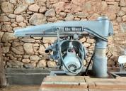 Sierra de brazo radial dewalt c/ motor 5hp
