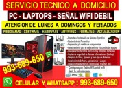 Tecnico de computadoras laptops redes routers a domicilio