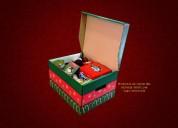 Venta de cajas navideÑas de carton
