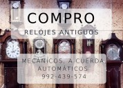 Compro relojes antiguos seiko, omega, longines, et