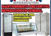 Tecnico de maquinas exhibidoras - congeladoras en san isidro.
