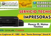 ReparaciÓn de impresoras en chiclayo 959992145