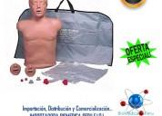 Maniqui para rcp americano brad simulaids