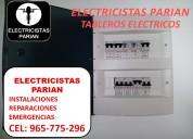 electricistas en lince a domicilio/ 965775296 peru