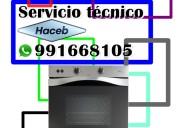 991668105 hornos haceb servicio tecnico en lima