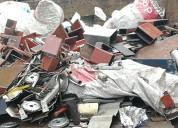 Compramos: aluminio,cobre, acero- plomo. metales en general.