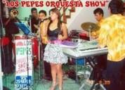 Orquesta los pepes en lima s/.850 hr.cel 997302552
