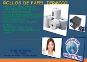 Rollos de papel termico 8*8*80