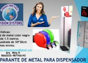 Parante de metal para dispensador
