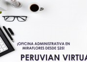 Black friday oficina virtual en miraflores dsd $25