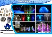 estanques de agua artificial, fuentes de agua
