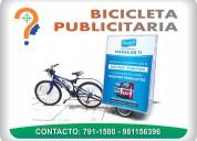 Bicicletas publicitarias para eventos