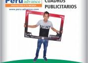 Cuadros  publicitarios para activaciones