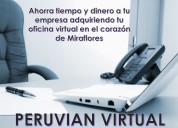 ALQUILER DE OFICINA PARA CALL CENTER - CERCADO DE