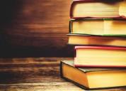 Compro libros de todo tipo ya sean usados o nuevos