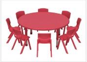 Mesa circular para niños - mayorista
