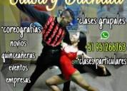 Profesor profesional de baile - dicta clases particulares, eventos