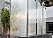 Jardín vertical,panel de burbujas, muro llorón.