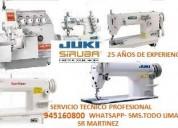 TÉcnico especialista en  maquinas de coser