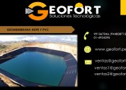 Venta e instalacion de geomembrana