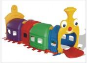 Túnel tren preescolar