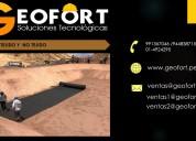 Venta de geotextiles - geofort