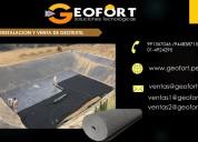 Venta de geotextil tejido y no tejido
