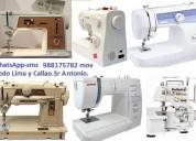 Servicio técnico para máquinas de coser a domicili