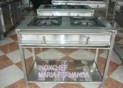 Cocinas en acero inox 304. inoxchef lima peru
