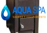 Generador de calor a gas para sauna seca
