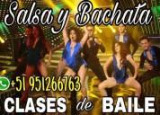 Clases particular de salsa, bachata. coreografias