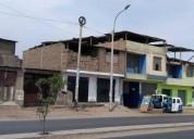 Casa como terreno en villa el salvador 140 m2