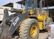 Vendo cargador frontal xcmg - 2010