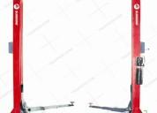 Elevador para autos hidráulico manual 35a traxpark