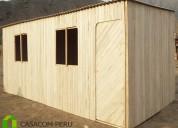 Fabricacion de habitaciones madera precios