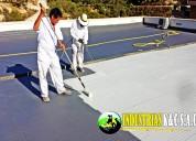 Venta de impermeabilizante / pintura de techos