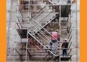 escaleras de acceso provisionales normadas