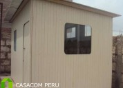 Habitaciones de madera para terrazas