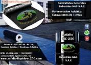 Ofrecemos manto asfÁltico / bitumen / alquitrÁn