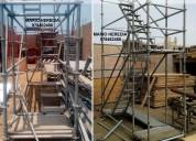 escaleras de acceso provisionales normado alquiler